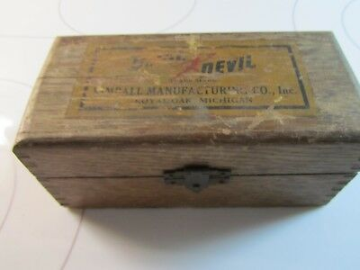 Kimball Manufacturing Company Bevil Devil Antique Wood Plane