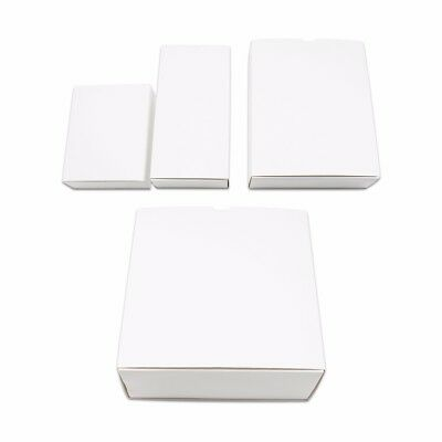 Foldable White Kraft Paper Drawer Box Recyclable Cardboard Gift Wedding Favor