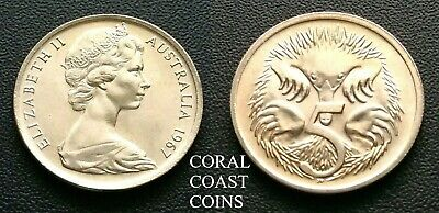 1967 5 Cent Coins straight from the RAM roll CHOICE Examples scarce