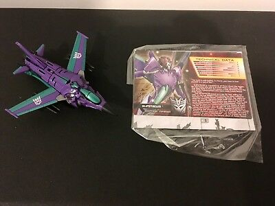 Transformers Collector's Club Timelines Slipstream Complete