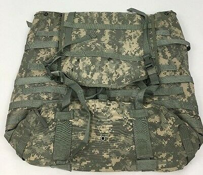 Backpack Rucksack Large US Army MOLLE 2 II ACU Camo Military W/O Frame Good