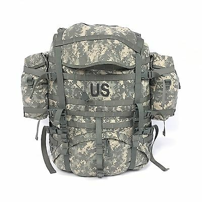 US Army Large Rucksack ACU Camo UCP Backpack MOLLE II USGI Military Unused
