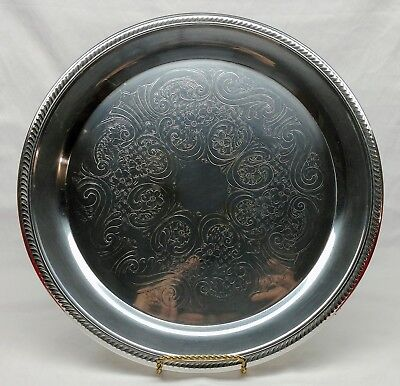 Vintage F.B. Rogers Silver Co. 1883 - Silver-plated Serving Platter Tray #6705