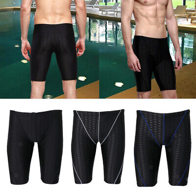 Men's Boys Swimming Trunks Boxer Shorts Jammers Swimmers Swim Pants Black