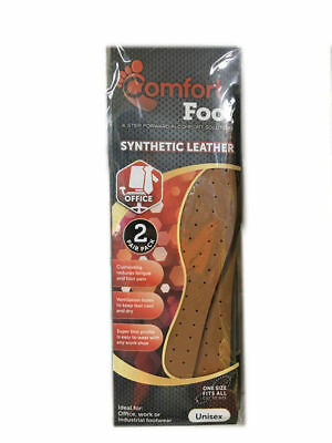12 Packs of 2 Pairs Synthetic Leather Insole Support Unisex Bulk Wholesale lot