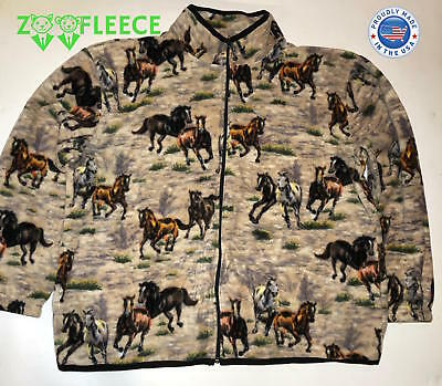 f7a282bde9b7 ZooFleece Women's Horse Riding Jacket Gift Horses Sweater Equestrian Mare  ...