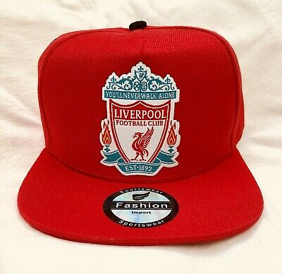 Liverpool FC Snapback Hat Adjustable Size Fits All Brand New