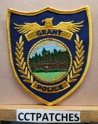 Grant, Alabama Police Shoulder Patch Al