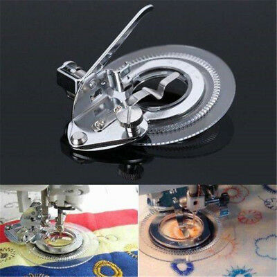 Durable Flower Stitch Circle Embroidery Presser Foot Sewing Machine Accessories