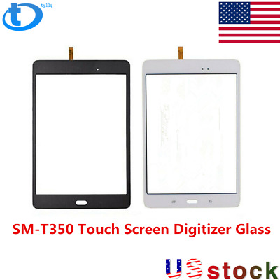 "New For Samsung Galaxy Tab 8.0"" SM-T350 Touch Screen Digitizer Glass FREE USPS"