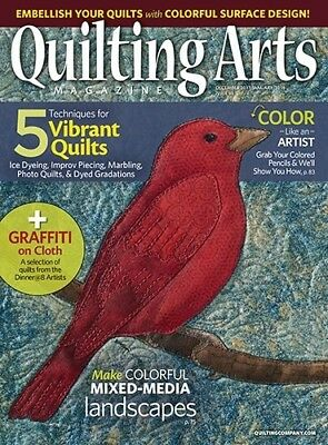 Quilting Arts Magazine December 17/January 2018