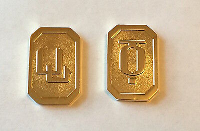Battlestar Galactica BSG Cubits Currency (Set of 2)