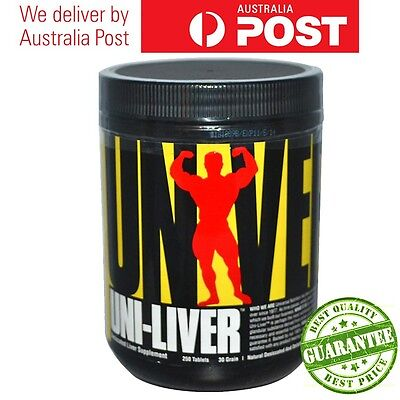 Cheap Universal Nutrition Uni-Liver Desiccated LiverSupplement 250 or 500 tabs
