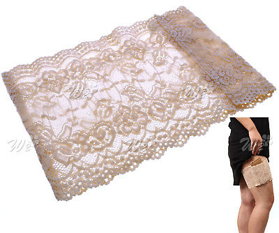 Women Lace Non Slip Socks Anti-Chafing Thigh Bands Prevent Leg Warmer Nude L