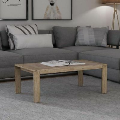 vidaXL Coffee Table Console Hall Table Home Furniture Solid Brushed Acacia Wood