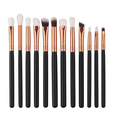 12PCS Pro Makeup Brush Set Eye Powder Foundation Eyeshadow Eyeliner Brush Tools