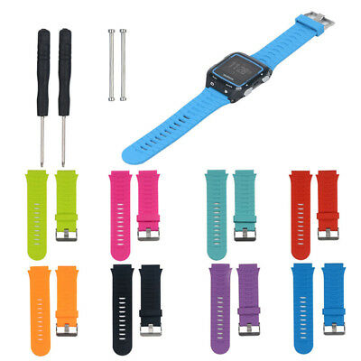 Replacement Silicone Watch Band Strap + Tools Kit for Garmin Forerunner 920XT
