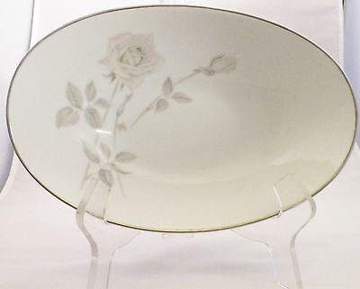"Noritake Fine China Melrose Pattern 6002 Oval 10"" Vegetable Bowl"
