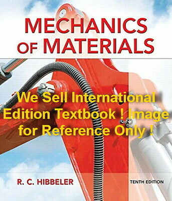 3 Days US Mechanics of Materials 10E Russell C Hibbeler 10th Edition in Si Units