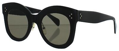 Celine Women's CL 41443/S/S Chris Sunglass Black 06Z/2M Brown 50mm ITALY