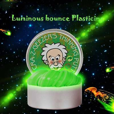 Intelligent Luminous Color Slime Kids Toys Hand Gum Silly Putty Plasticine Mud