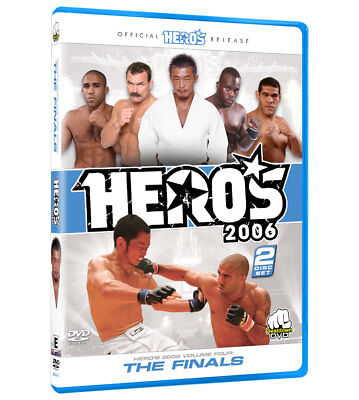Hero's 2006 Volume 4 The Finals DVD [MMA UFC BJJ K-1 Akiyama Manhoef ] NEW!