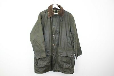 Mens Barbour A200 Border Wax Green Jacket size C40/102Cm Stock No.T746