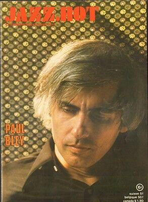 JAZZ HOT 334 PAUL BLEY Lionel Hampton ORNETTE COLEMAN