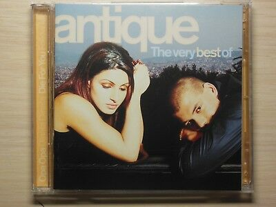 Antique  – The Very Best Of / 2CD Compilation Enhanced 2004 Rare Bonnier Music