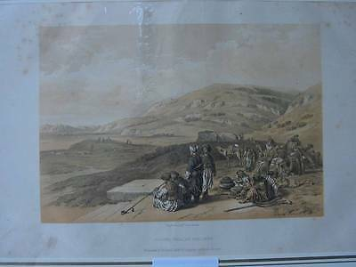 86460-Israel & Palästina-Jacob`s Well-nach David Roberts-Lithographie-1857