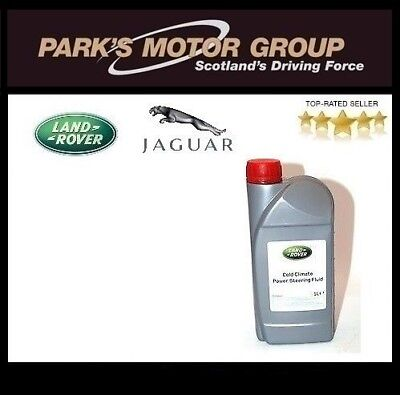 GENUINE LAND ROVER 1Ltr Cold climate Power Steering Fluid STC50519
