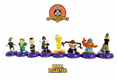 Rare  Warner Bros. Looney Tunes Figurines: Hip Hop Collection - 8 Characters