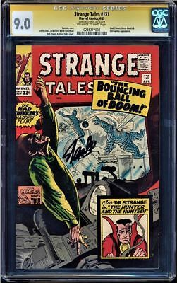 Strange Tales #131 Cgc 9.0 Oww Pages Ss Stan Lee  Mad Thinker App #0248377008