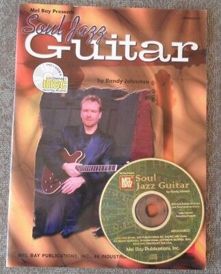 Soul Jazz Guitar Randy Johnston Contrafacts Solos Chords Licks Tab Book & CD
