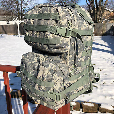 ACU/UCP Digital Camo Camouflage Large Military Backpack Rucksack