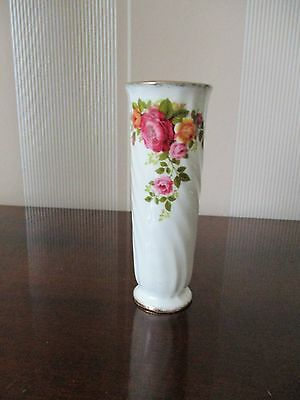 Kleine Vase Cottage Roses, Fine Bone China