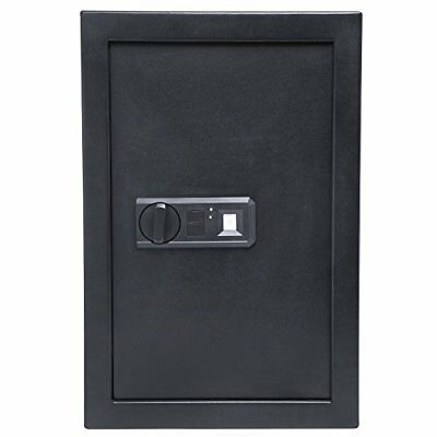 "Ivation Biometric Digital Wall Safe – 20.6"" x 13.8"" x 3.7"" Home Security Box Wit"
