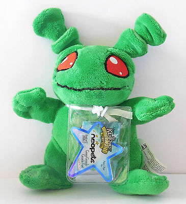 NEW GREEN GRUNDO Neopets Series 7 Plush Unused Code NEW