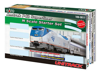 Kato (N-Scale)  AMTRAK P42 SUPERLINER Starter Set 106-0017 NIB  *FREE SHIPPING*