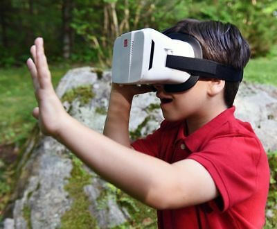SkyMall Virtual Reality 3D Glasses Headset- 3D & 360° Movie, Video & Video Game