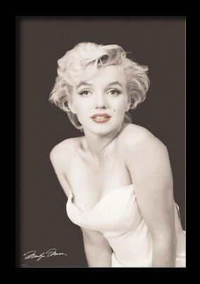 MARILYN MONROE RED LIPS 13x19 FRAMED GELCOAT POSTER ICONIC MODEL GIFT BEAUTIFUL!