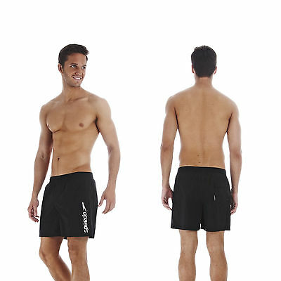 Badehose Speedo Badeshorts Watershorts Scope Shorts Herren Männer schwarz