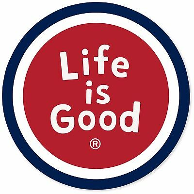 Life is Good.A Magnet LiG Sphere  - Red