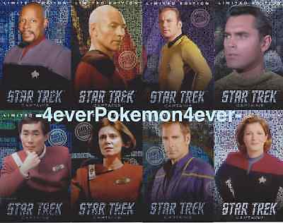 Dave and Busters Star Trek Captains Set (Single - Pike Etc)