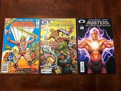 Masters of the Universe first issue lot! 3x #1 issues, all High Grade variants!