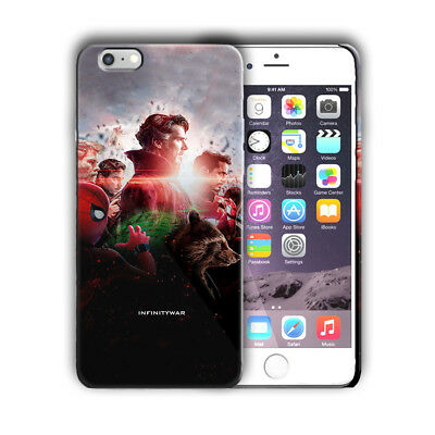 new style 45fa9 9e6cd AVENGERS INFINITY WAR Iphone 4 4s 5 5s 5c SE 6 6s 7 8 X XS Max XR Plus Case  1