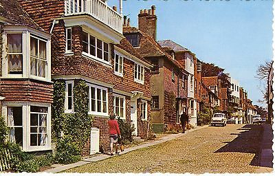 Watchbell Street, Rye Sussex England Vintage Postcard Uncirculated Ex. Cond.