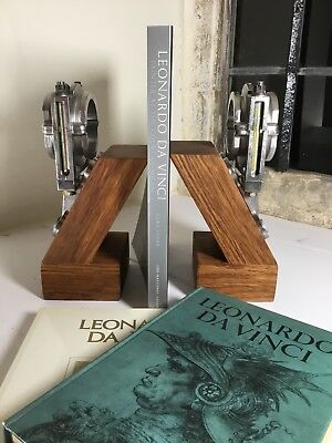 Vintage Aviation Salvage - Control Link Mount Bookends