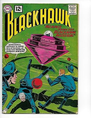 "Blackhawk 168 - Vg 4.0 - ""menace From The Blackhawk Museum"" (1962)"