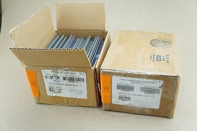 "NEW Lot Of 195 Clear Hinged Pallet Tag Tags 750000001 7-1/2 X 2-1/4"" Ships FREE"